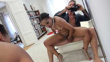 Dark Chade Rose's Anal Casting Couch Ride