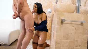 Amazing hot sexy porn with Ava Black